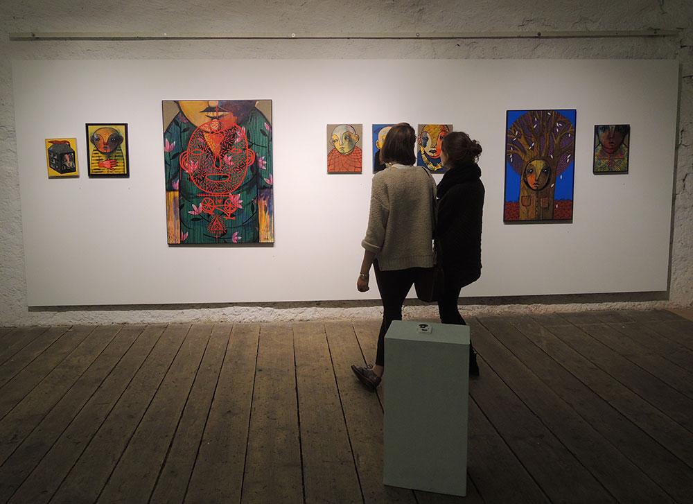 """""""Juxtapostion. Junge urbane Kunst."""""""
