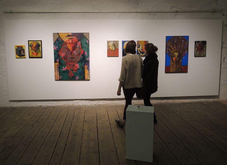 Städtische Galerie Harderbastei. Ingolstadt.