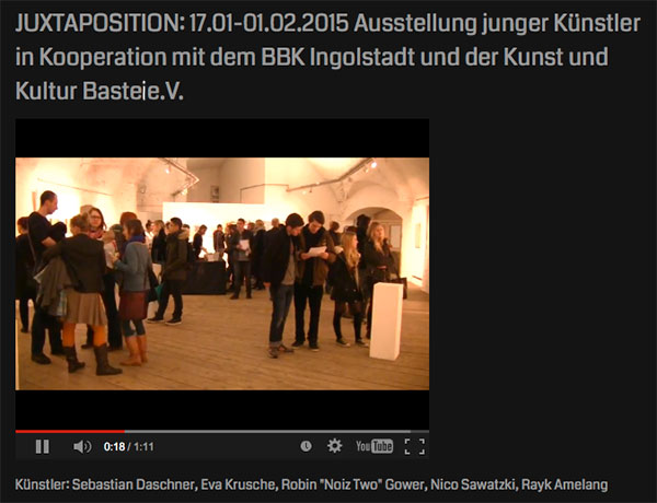 VIDEO KULTURBASTEI INGOLSTADT